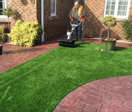 leading lawn maintenance